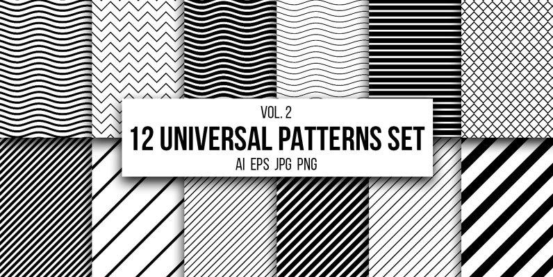 12 Universal Patterns Set Vol  2