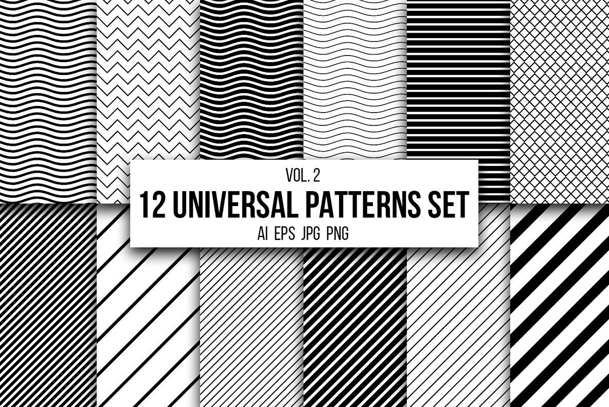 12 Universal Patterns Set Vol  2