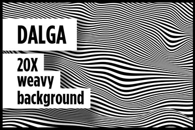Dalga Weavy Backgrounds