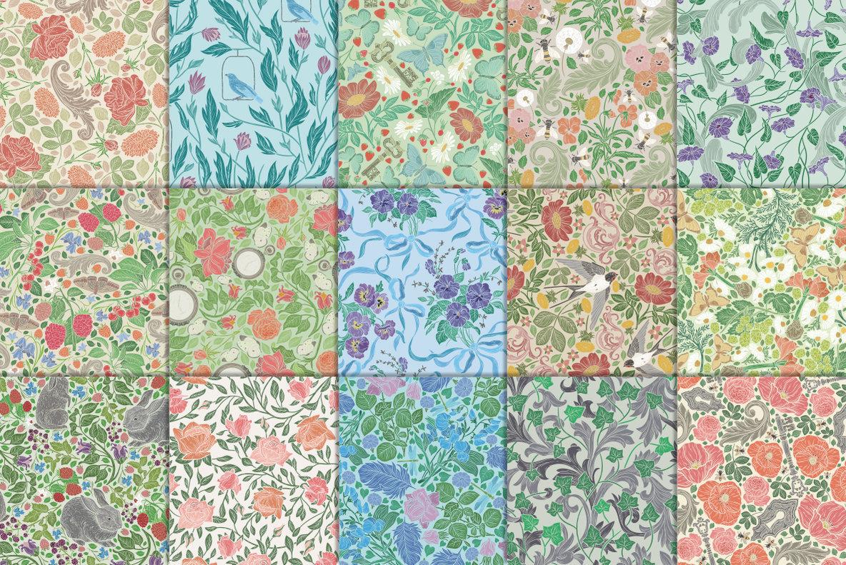 English Backyard Patterns