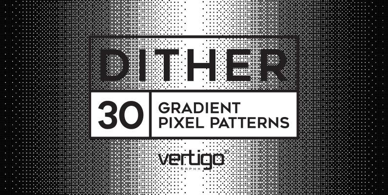 Dither   Gradient Pixel Patterns