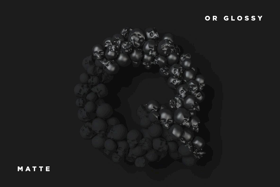 QRU Skull Type