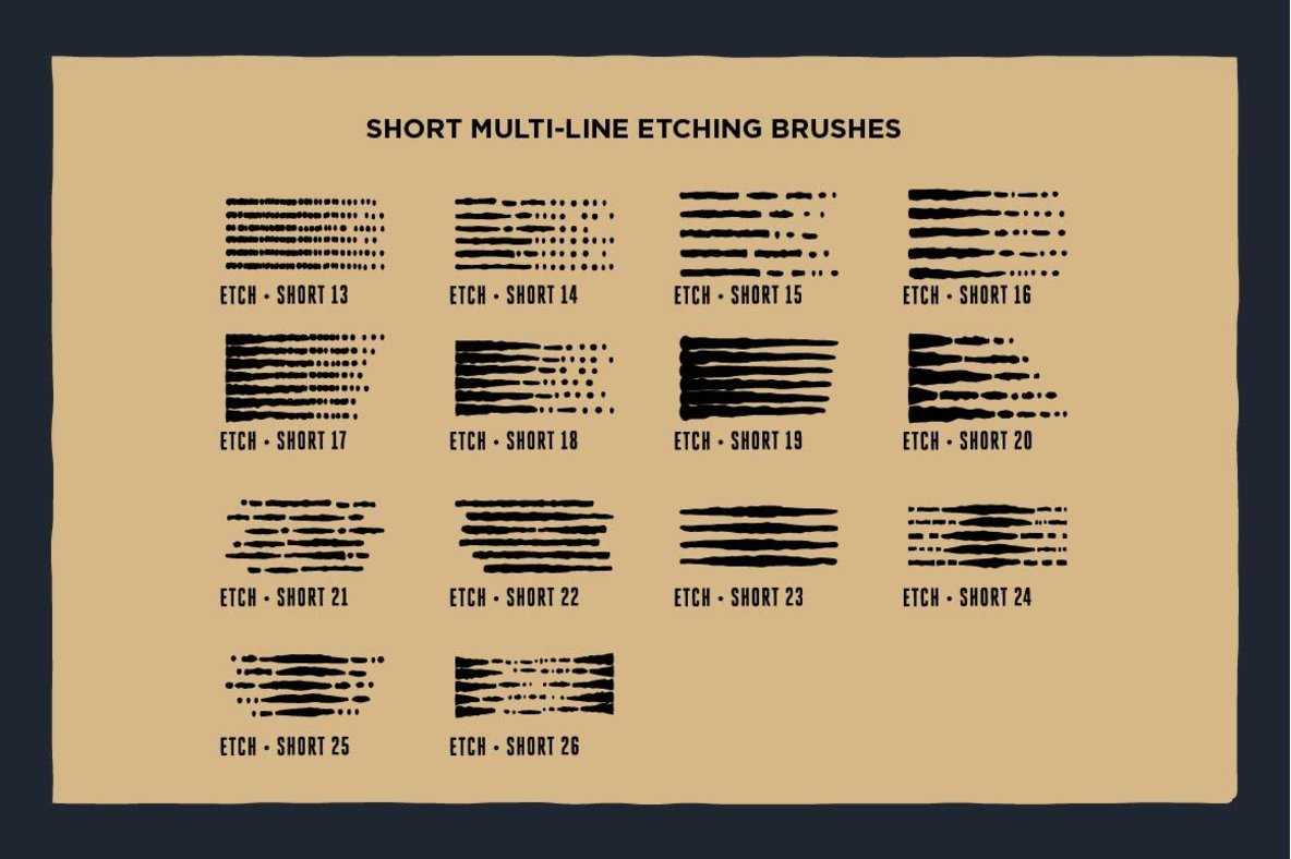 Grave Etcher   Vector Engraving Brushes