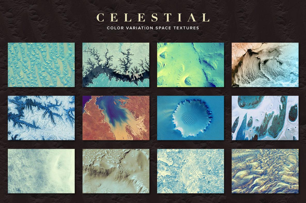 Celestial  75 Space Textures