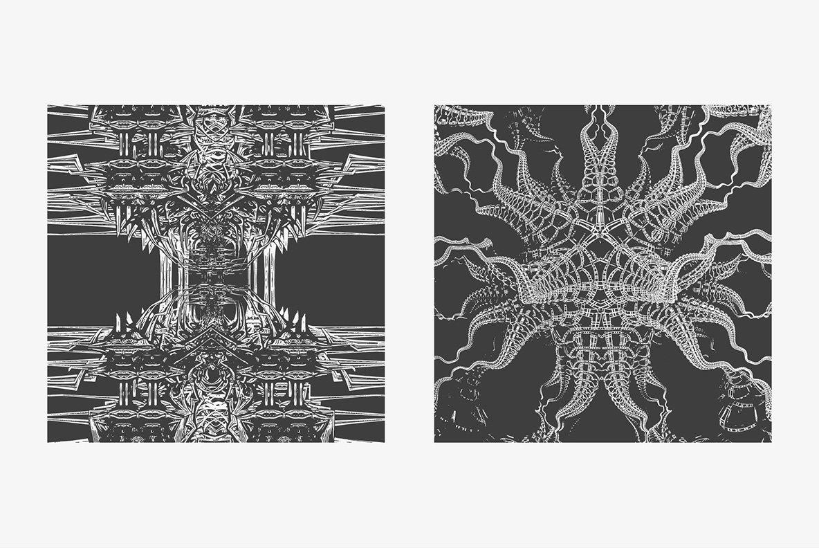 Experimental Fractals