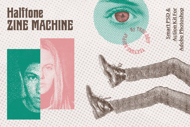 Halftone Zine Machine