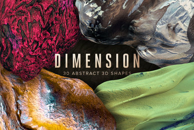 Dimension 30 Abstract 3D Shapes