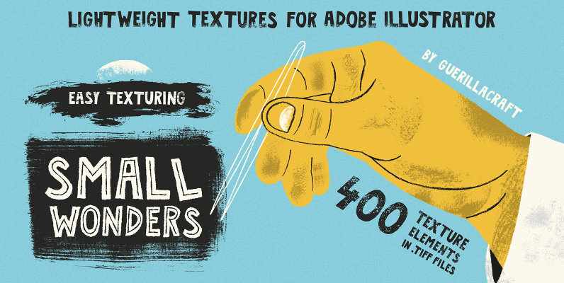 Small Wonders - 400 Texture Elements