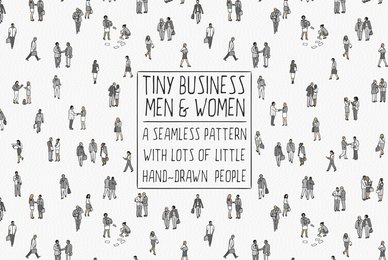 Tiny Business People