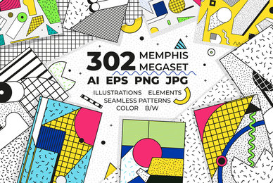302 Memphis Megaset