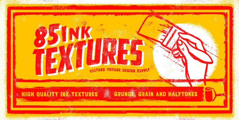 85 Ink Textures