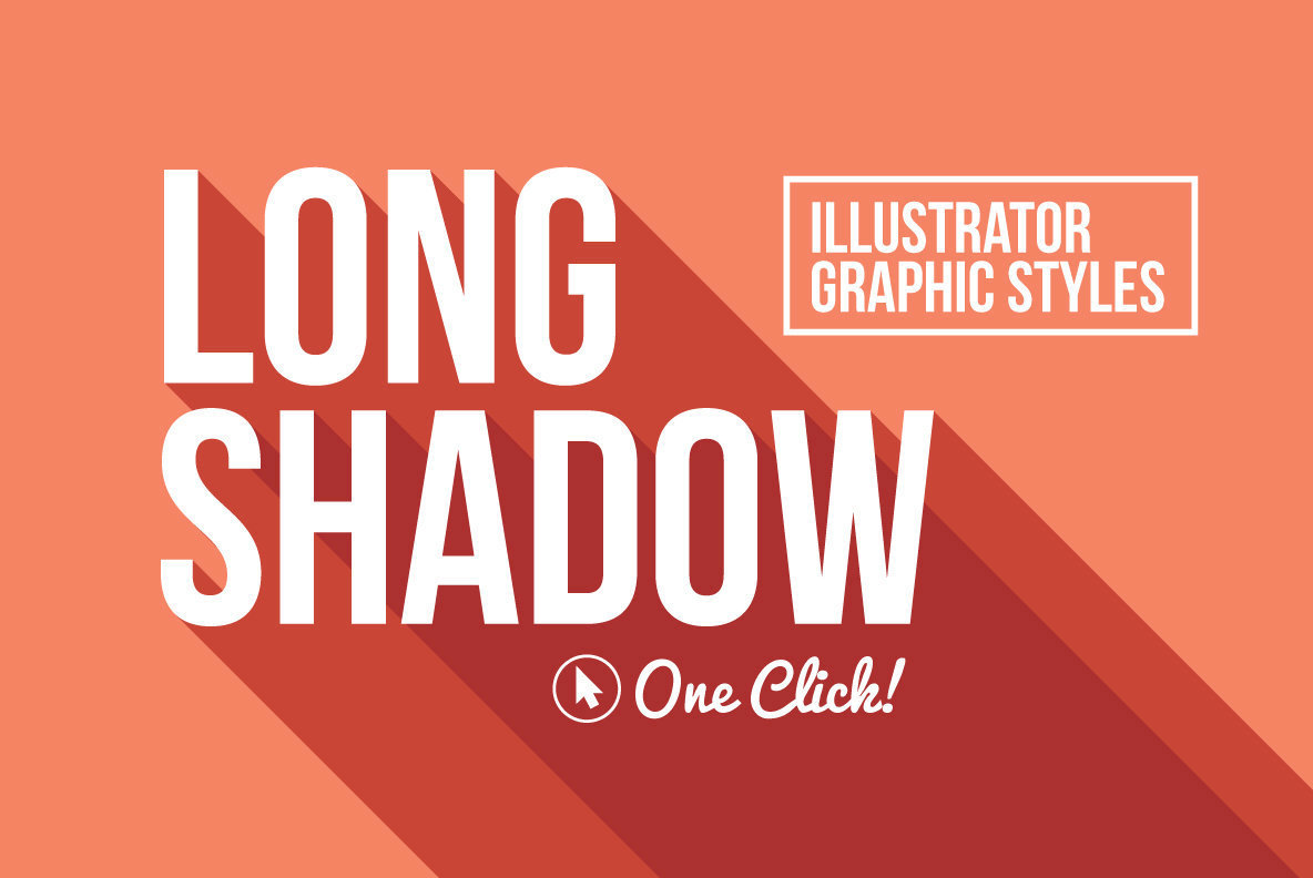 Long Shadow Graphic Styles