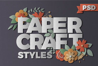 PaperCraft Photoshop Effects