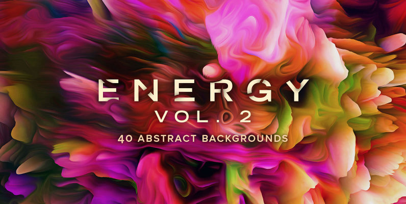 Energy Vol. 2: 40 Abstract Backgrounds
