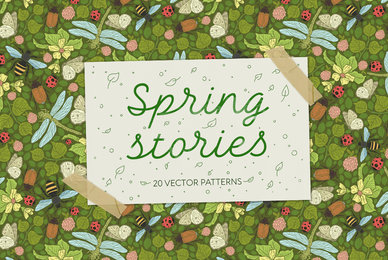 Spring Stories Patterns