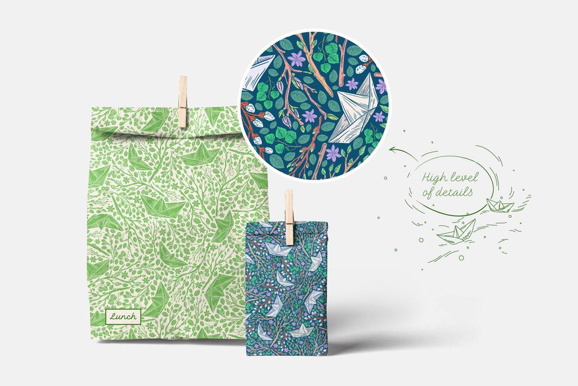 Spring Stories Patterns