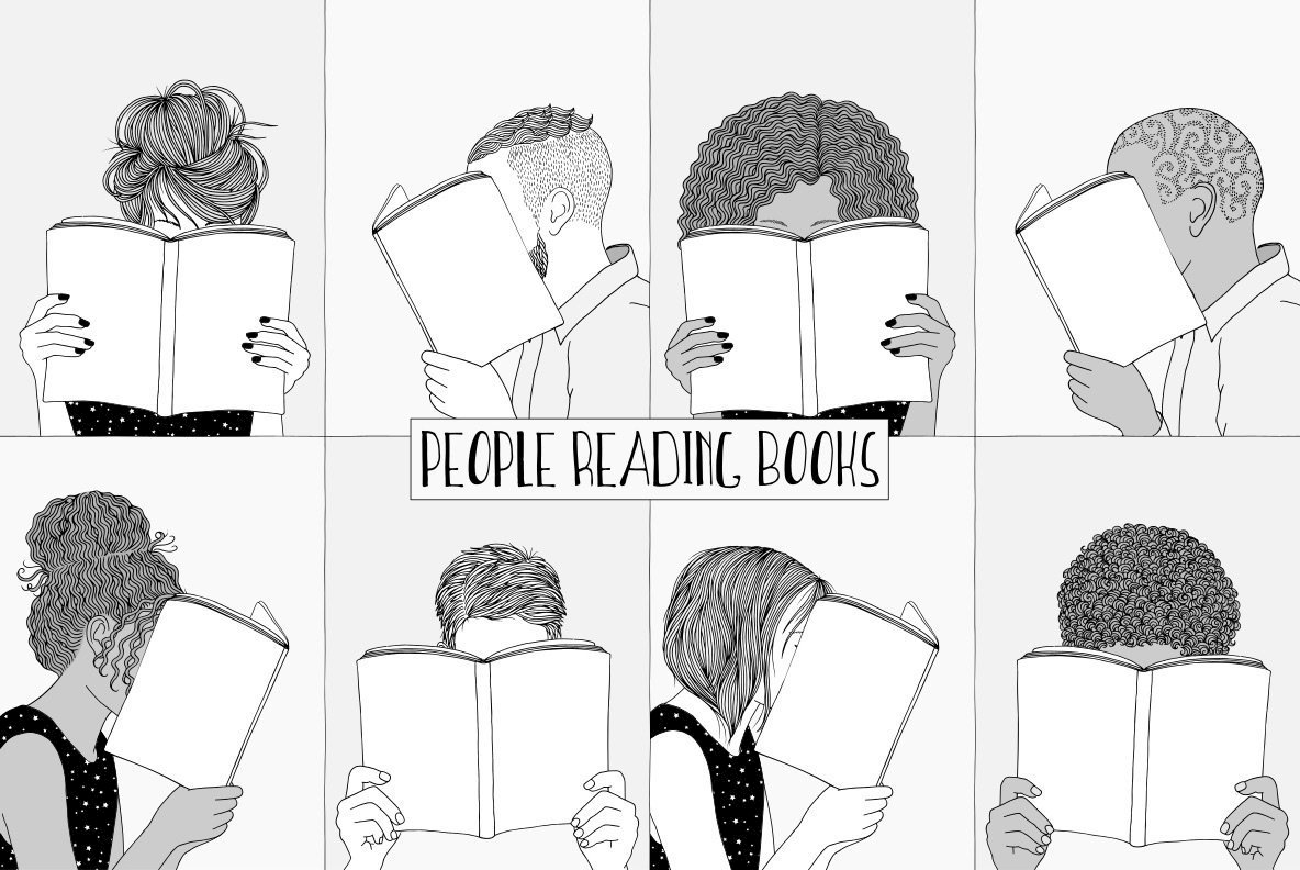 People Reading Books
