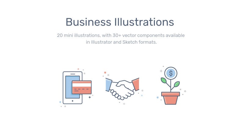 Business & Finance Illustrations