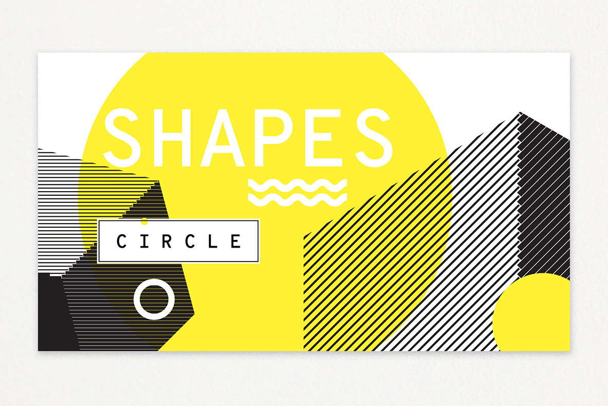 60 Geometric Shapes   30 Posters