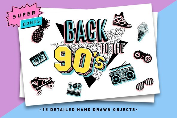 Back to the 90's - Graphics