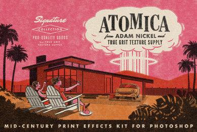 ATOMICA Mid Century Effects Kit