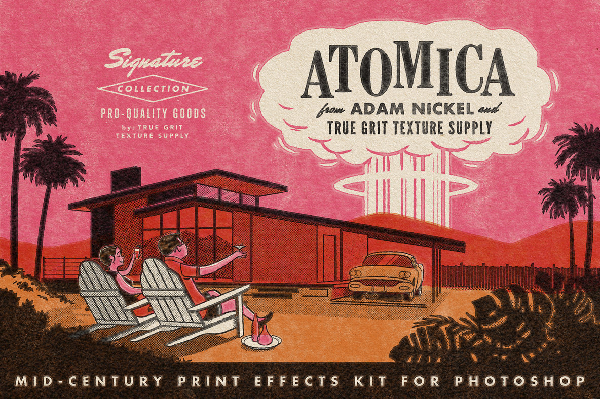 ATOMICA Mid Century Effects Kit