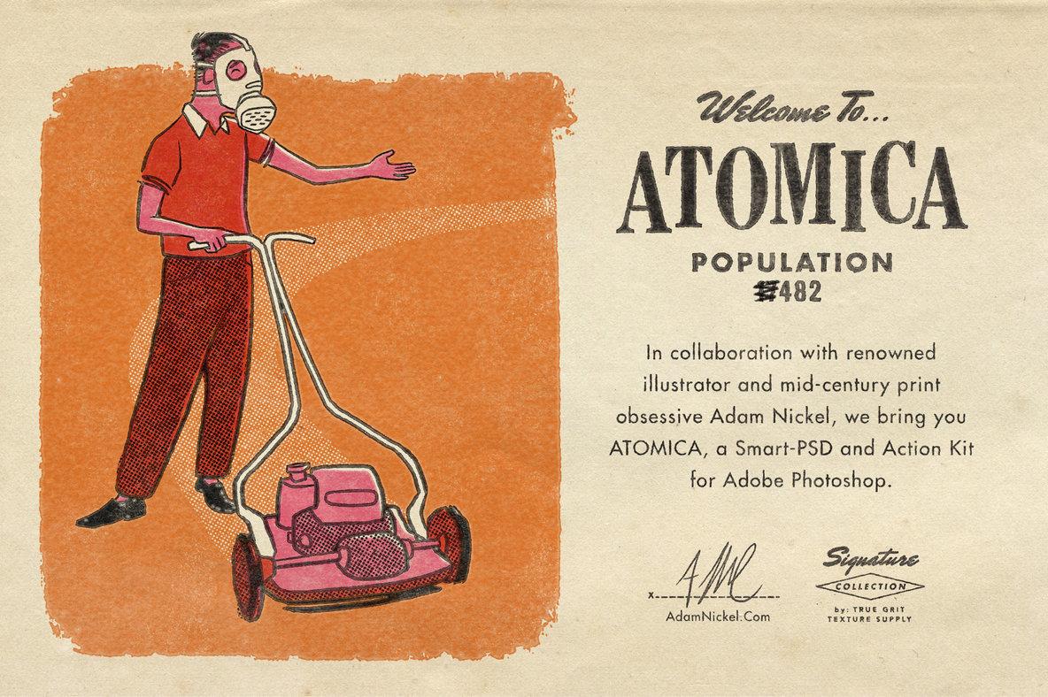 ATOMICA Mid-Century Effects Kit