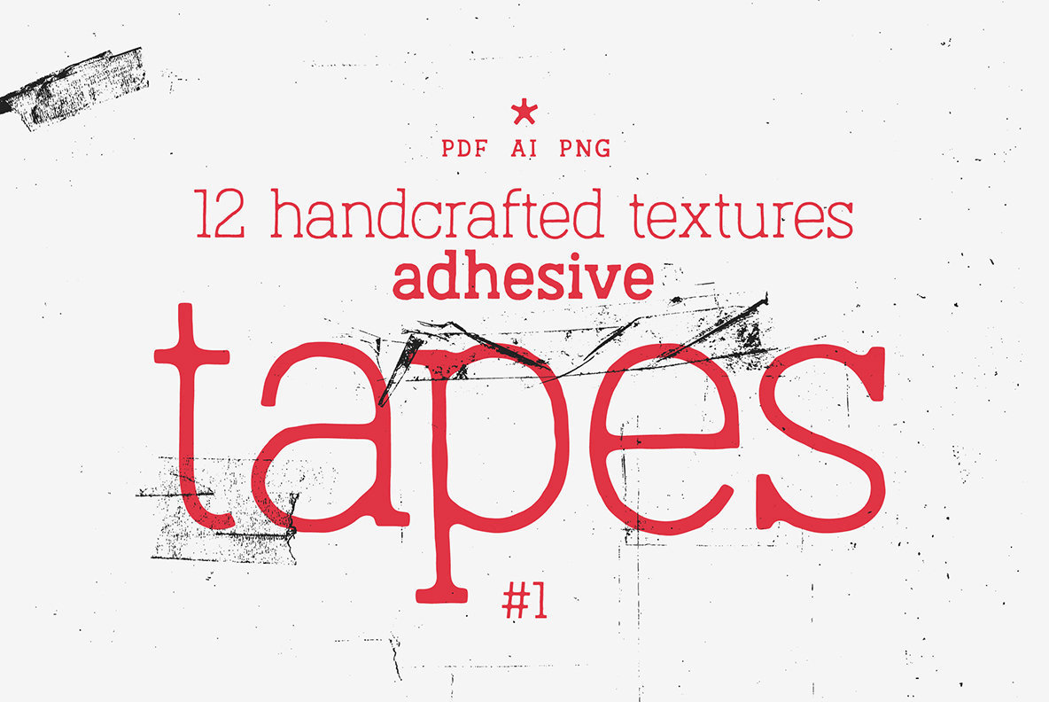 Adhesive Tapes Vol 1 Texture Pack