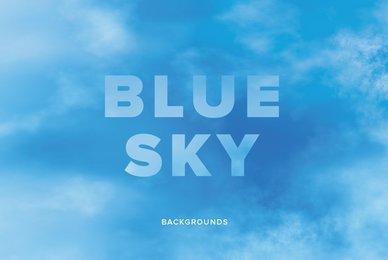 Blue Sky Backgrounds