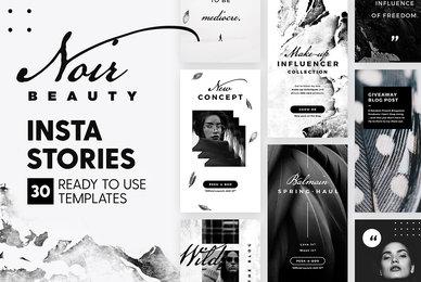 Instagram Stories Noir Beauty