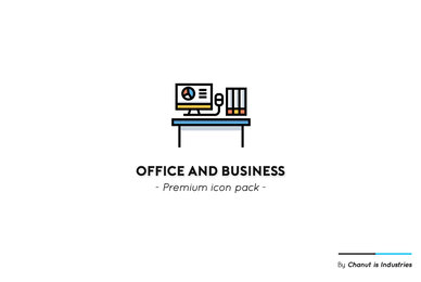 Office and Business Premium Icon Pack