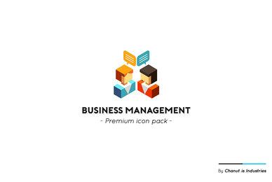 Business Management Premium Icon Pack