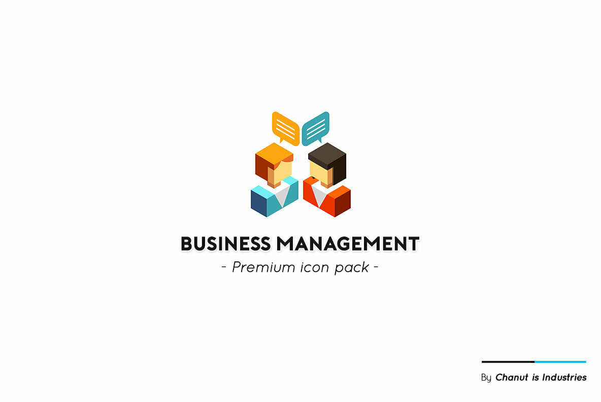 Business Management Premium Icon Pack