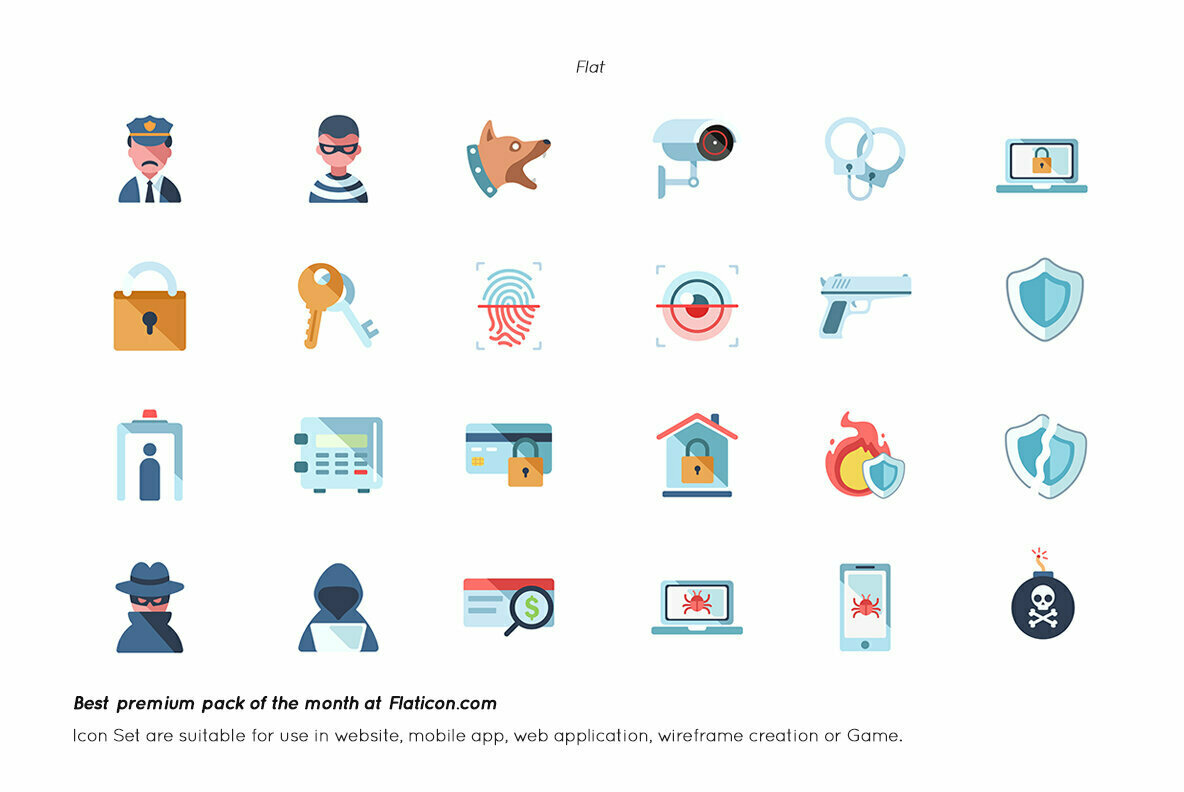 Internet Security Premium Icon Pack
