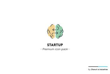 Startup Business Premium Icon Pack