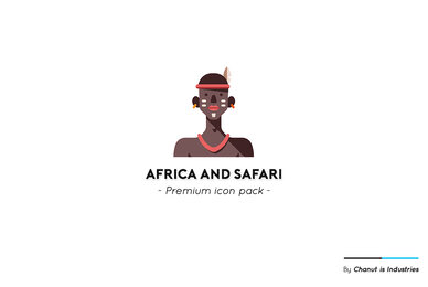 Africa and Safari Premium Icon Pack