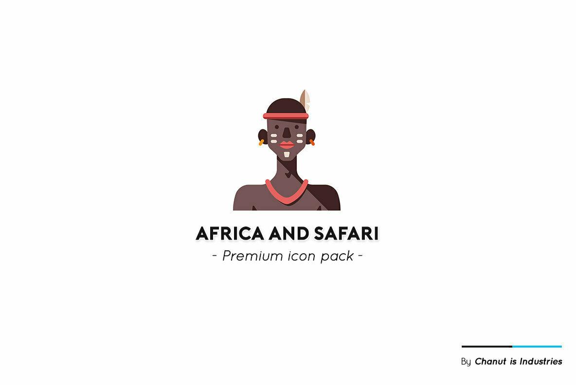 Africa and Safari Premium Icon Pack
