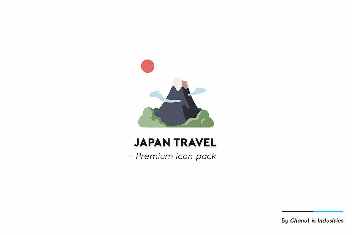 Japan Travel Premium Icon Pack