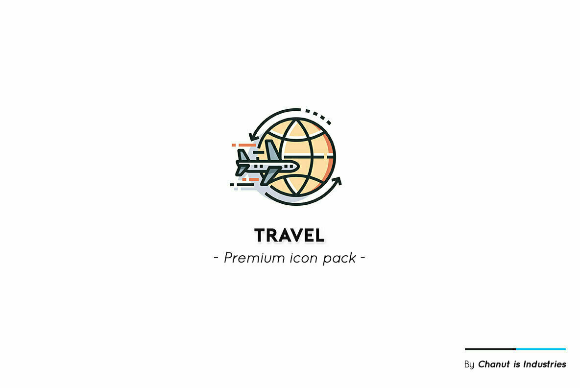 Travel and Vacation Premium Icon Pack