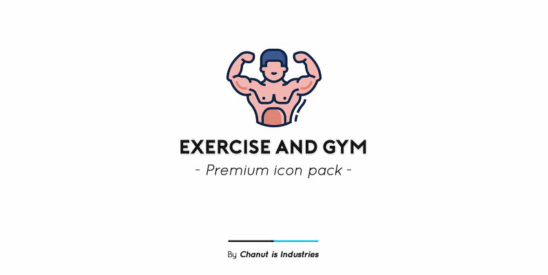Exercise and Gym Premium Icon Pack