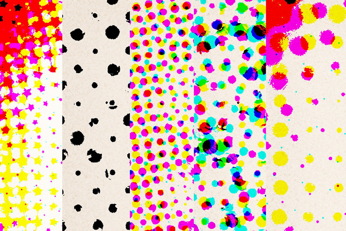 Halftone Textures 3