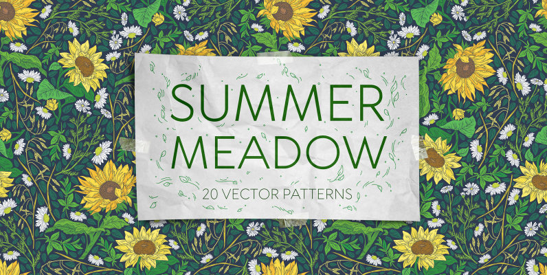 Summer Meadow Patterns