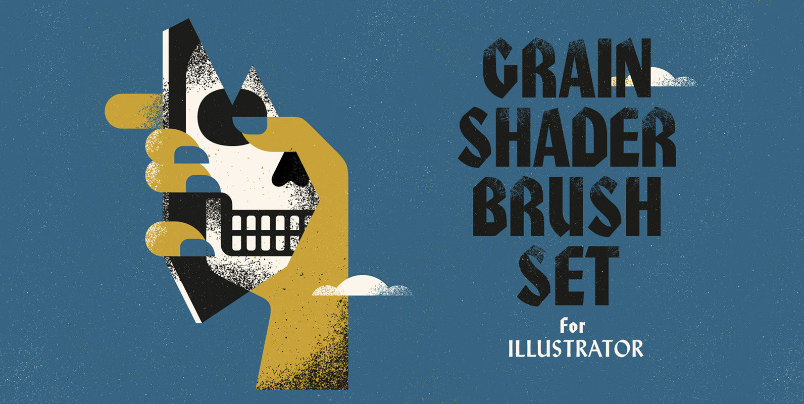Grain Shader Brushes For Illustrator