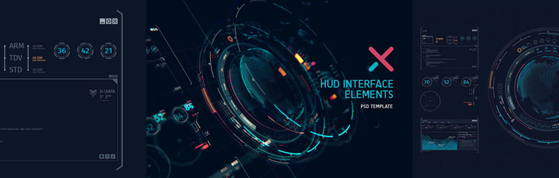 Futuristic Hud Interface UI XT1