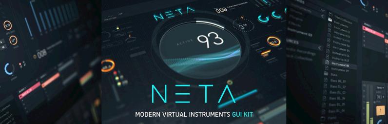 NETA  Modern Virtual Instrument UI