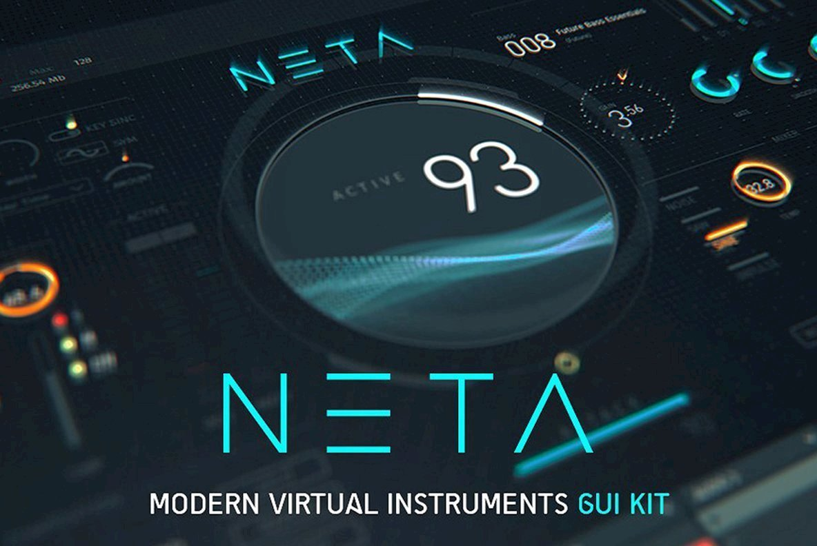 NETA  Modern Virtual Instrument UI