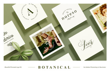 Botanical Logo Kit