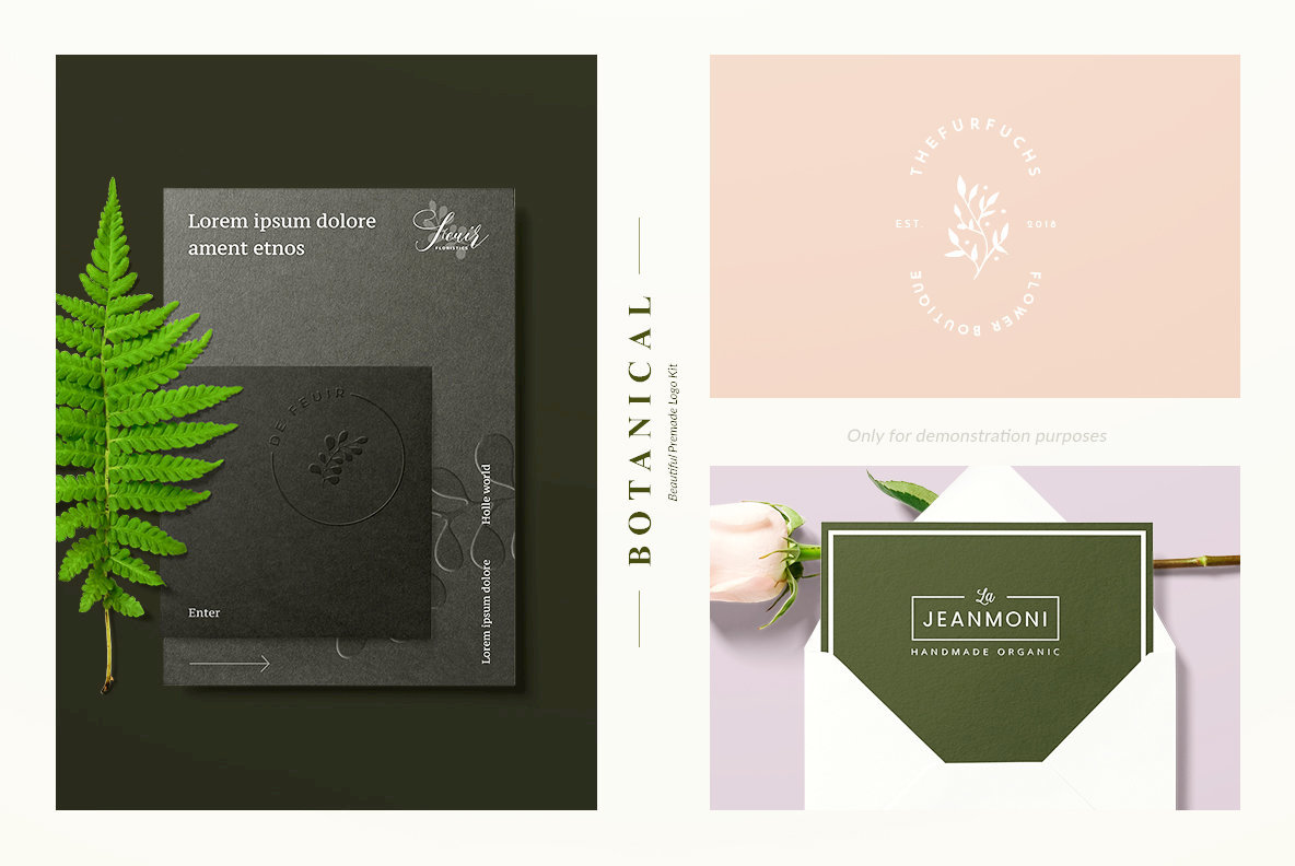 Botanical Logo Kit