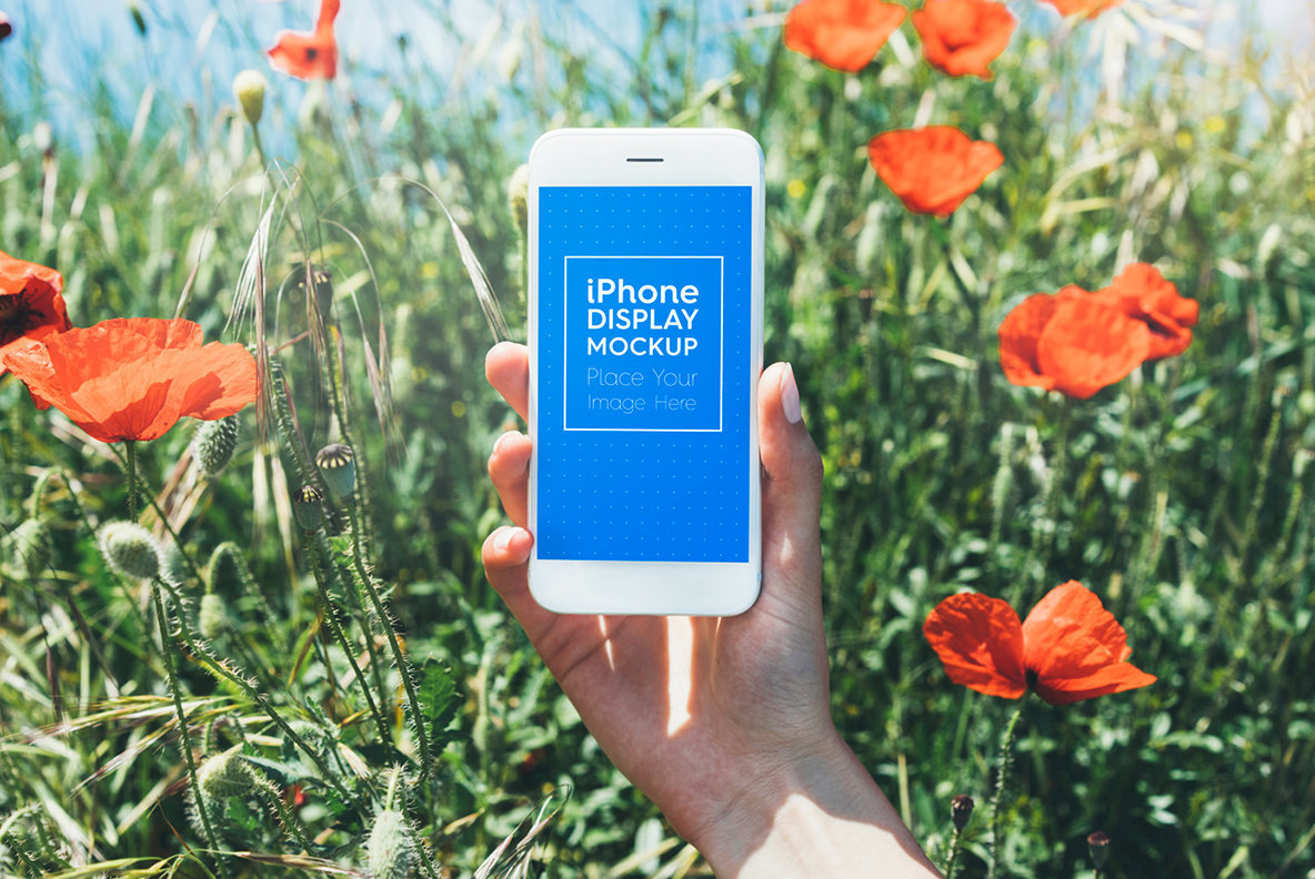 iPhone   Smartphone Outdoor Mockups