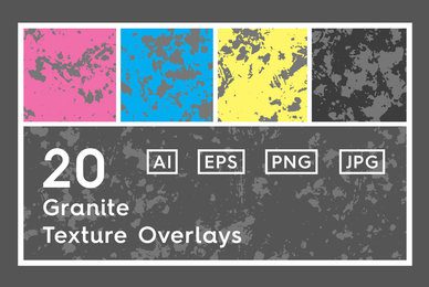 20 Granite Texture Overlays
